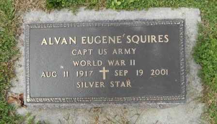 SQUIRES, ALVAN EUGENE VETERAN WWII - Howell County, Missouri | ALVAN EUGENE VETERAN WWII SQUIRES - Missouri Gravestone Photos