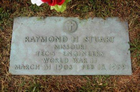 STUART, RAYMOND H. VETERAN WWII - Howell County, Missouri | RAYMOND H. VETERAN WWII STUART - Missouri Gravestone Photos