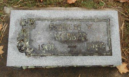 WEBBER, FORREST W. - Howell County, Missouri | FORREST W. WEBBER - Missouri Gravestone Photos