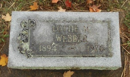 WEBBER, LOTTIE M. - Howell County, Missouri | LOTTIE M. WEBBER - Missouri Gravestone Photos