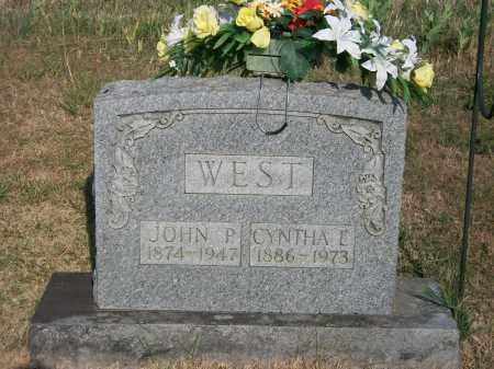 WEST, CYNTHIA E. - Howell County, Missouri   CYNTHIA E. WEST - Missouri Gravestone Photos