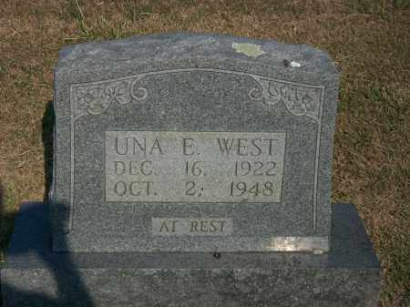 WEST, UNA E. - Howell County, Missouri | UNA E. WEST - Missouri Gravestone Photos