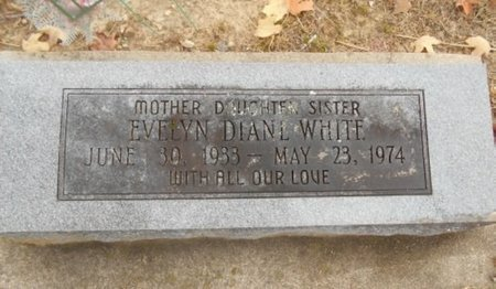WHITE, EVELYN DIANE - Howell County, Missouri | EVELYN DIANE WHITE - Missouri Gravestone Photos