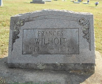 WILHOIT, FRANCES - Howell County, Missouri | FRANCES WILHOIT - Missouri Gravestone Photos