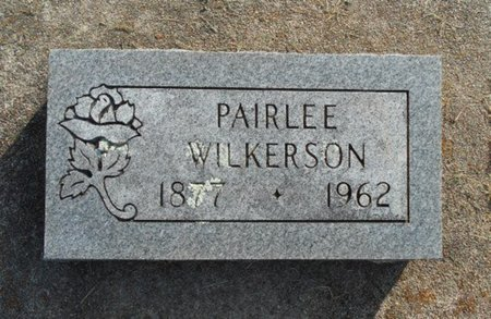IRVING WILKERSON, PAIRLEE - Howell County, Missouri | PAIRLEE IRVING WILKERSON - Missouri Gravestone Photos