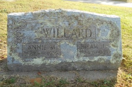 "WILLARD, MARY ANNA ""ANNIE"" - Howell County, Missouri | MARY ANNA ""ANNIE"" WILLARD - Missouri Gravestone Photos"