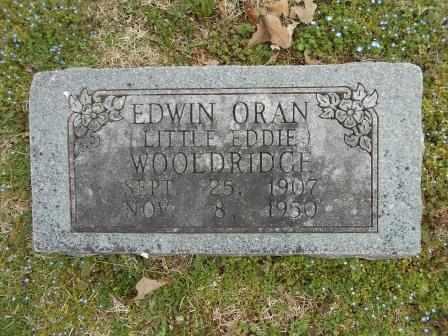 WOOLDRIDGE, EDWIN - Howell County, Missouri | EDWIN WOOLDRIDGE - Missouri Gravestone Photos