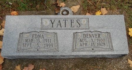 YATES, EDNA - Howell County, Missouri | EDNA YATES - Missouri Gravestone Photos