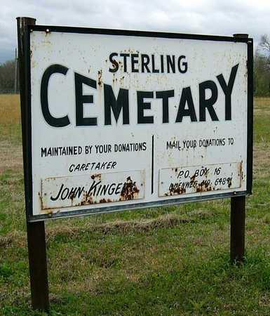 *, CEMETERY SIGN - Jasper County, Missouri | CEMETERY SIGN * - Missouri Gravestone Photos