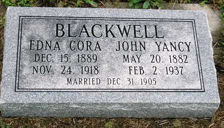 BLACKWELL, JOHN YANCY - Jasper County, Missouri | JOHN YANCY BLACKWELL - Missouri Gravestone Photos