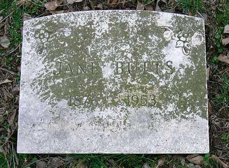 """BUTTS, CHRISTINE """"JANE"""" - Jasper County, Missouri   CHRISTINE """"JANE"""" BUTTS - Missouri Gravestone Photos"""