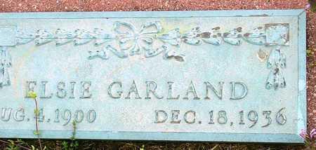 GARLAND, ELSIE - Jasper County, Missouri | ELSIE GARLAND - Missouri Gravestone Photos