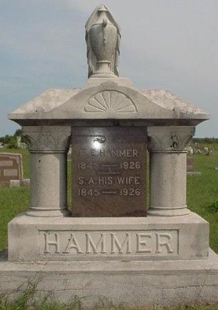 HAMMER, S. A. - Jasper County, Missouri   S. A. HAMMER - Missouri Gravestone Photos