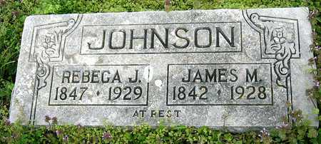 JOHNSON JOHNSON, REBECCA J - Jasper County, Missouri | REBECCA J JOHNSON JOHNSON - Missouri Gravestone Photos