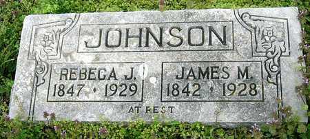 JOHNSON, JAMES M - Jasper County, Missouri | JAMES M JOHNSON - Missouri Gravestone Photos