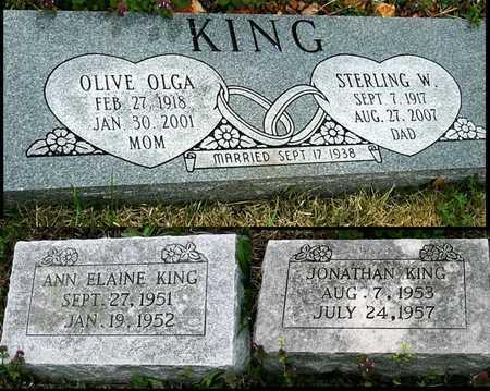 SMITH KING, OLIVE OLGA - Jasper County, Missouri | OLIVE OLGA SMITH KING - Missouri Gravestone Photos