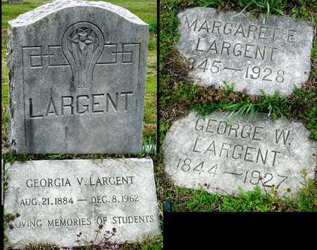 LARGENT, GEORGIA VIRGINIA - Jasper County, Missouri | GEORGIA VIRGINIA LARGENT - Missouri Gravestone Photos