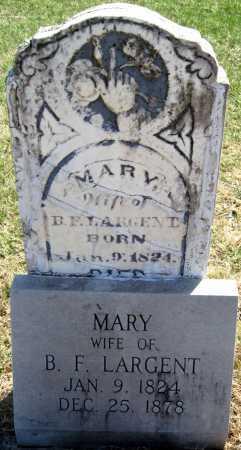 LARGENT, MARY - Jasper County, Missouri | MARY LARGENT - Missouri Gravestone Photos