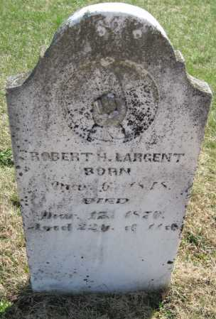 LARGENT, ROBERT H - Jasper County, Missouri   ROBERT H LARGENT - Missouri Gravestone Photos