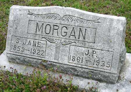 MORGAN, JACOB P - Jasper County, Missouri | JACOB P MORGAN - Missouri Gravestone Photos
