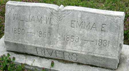 RIVERS, EMMA ELIZABETH - Jasper County, Missouri | EMMA ELIZABETH RIVERS - Missouri Gravestone Photos
