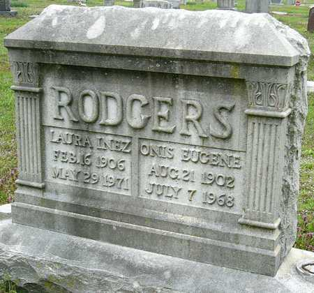 RODGERS, LAURA INEZ - Jasper County, Missouri | LAURA INEZ RODGERS - Missouri Gravestone Photos
