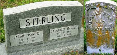 STERLING, SALATHIEL HAROLD VETERAN CW - Jasper County, Missouri | SALATHIEL HAROLD VETERAN CW STERLING - Missouri Gravestone Photos