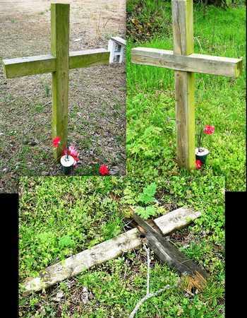UNKNOWN, WOODEN CROSS - Jasper County, Missouri | WOODEN CROSS UNKNOWN - Missouri Gravestone Photos
