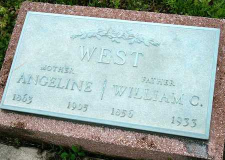 "WEST, NANCY ANGELINA ""ANGELINE"" - Jasper County, Missouri 