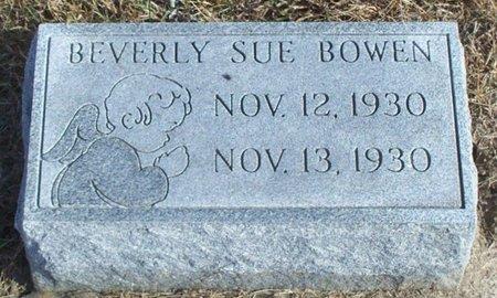 BOWEN, BEVERLY SUE - Knox County, Missouri | BEVERLY SUE BOWEN - Missouri Gravestone Photos