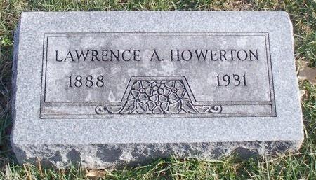 HOWERTON, LAWRENCE A. - Knox County, Missouri | LAWRENCE A. HOWERTON - Missouri Gravestone Photos
