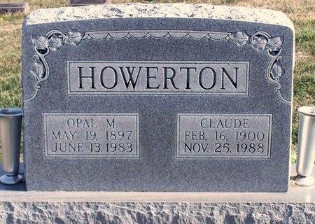 HOWERTON, ONIE CLAUDE - Knox County, Missouri   ONIE CLAUDE HOWERTON - Missouri Gravestone Photos