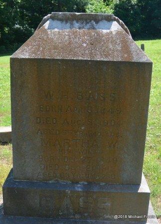 BASS, MARTHA W. - Lawrence County, Missouri   MARTHA W. BASS - Missouri Gravestone Photos