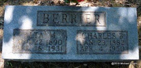 BERRIER, ALTA M. - Lawrence County, Missouri | ALTA M. BERRIER - Missouri Gravestone Photos