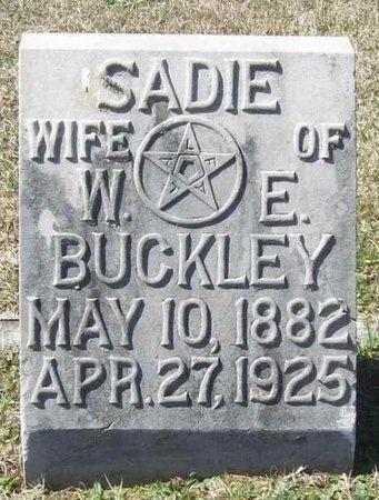 BUCKLEY, SADIE - Lawrence County, Missouri | SADIE BUCKLEY - Missouri Gravestone Photos