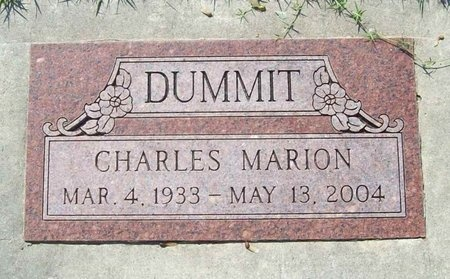 DUMMIT, CHARLES MARION - Lawrence County, Missouri | CHARLES MARION DUMMIT - Missouri Gravestone Photos