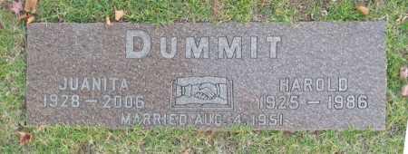 DUMMIT, HAROLD CONWAY - Lawrence County, Missouri | HAROLD CONWAY DUMMIT - Missouri Gravestone Photos