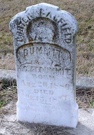 DUMMIT, PORTER GARFIELD - Lawrence County, Missouri   PORTER GARFIELD DUMMIT - Missouri Gravestone Photos