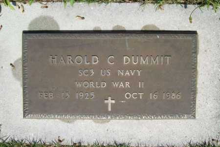 DUMMIT, HAROLD CONWAY (VETERAN WWII) - Lawrence County, Missouri   HAROLD CONWAY (VETERAN WWII) DUMMIT - Missouri Gravestone Photos