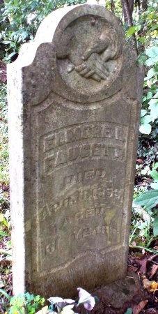 FAUCETT, ELMORE RILEY VETERAN - Lawrence County, Missouri   ELMORE RILEY VETERAN FAUCETT - Missouri Gravestone Photos
