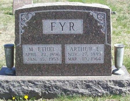 GRIFFITH FYR, MARY ETHEL - Lawrence County, Missouri | MARY ETHEL GRIFFITH FYR - Missouri Gravestone Photos