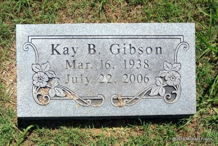 GIBSON, KAY B. - Lawrence County, Missouri | KAY B. GIBSON - Missouri Gravestone Photos