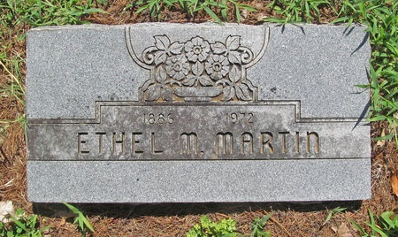 MARTIN, ETHEL M - Lawrence County, Missouri | ETHEL M MARTIN - Missouri Gravestone Photos