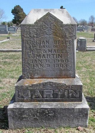 MARTIN, LILLIAN BELLE - Lawrence County, Missouri   LILLIAN BELLE MARTIN - Missouri Gravestone Photos