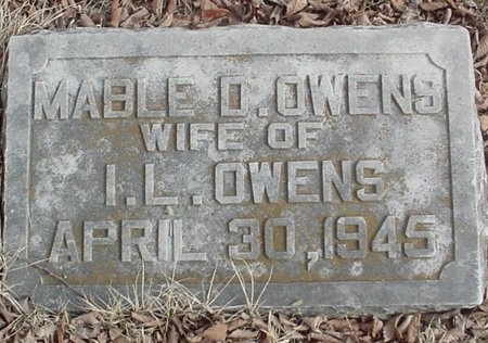 OWENS, MABLE D. - Lawrence County, Missouri   MABLE D. OWENS - Missouri Gravestone Photos