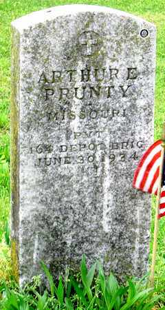PRUNTY, ARTHUR E (VETERAN WWI) - Lawrence County, Missouri | ARTHUR E (VETERAN WWI) PRUNTY - Missouri Gravestone Photos