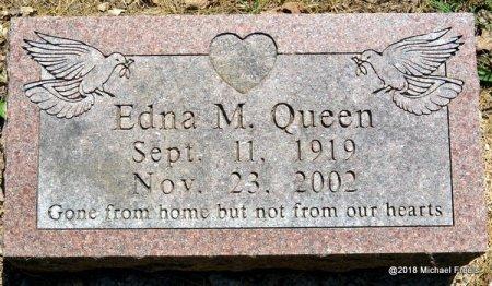 QUEEN, EDNA M. - Lawrence County, Missouri   EDNA M. QUEEN - Missouri Gravestone Photos