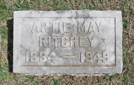 RITCHEY, ARTIE MAY - Lawrence County, Missouri | ARTIE MAY RITCHEY - Missouri Gravestone Photos