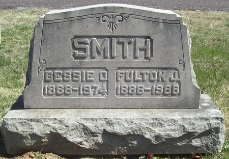 SMITH, FULTON J. - Lawrence County, Missouri | FULTON J. SMITH - Missouri Gravestone Photos