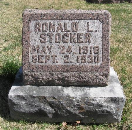 STOCKER, RONALD L - Lawrence County, Missouri | RONALD L STOCKER - Missouri Gravestone Photos